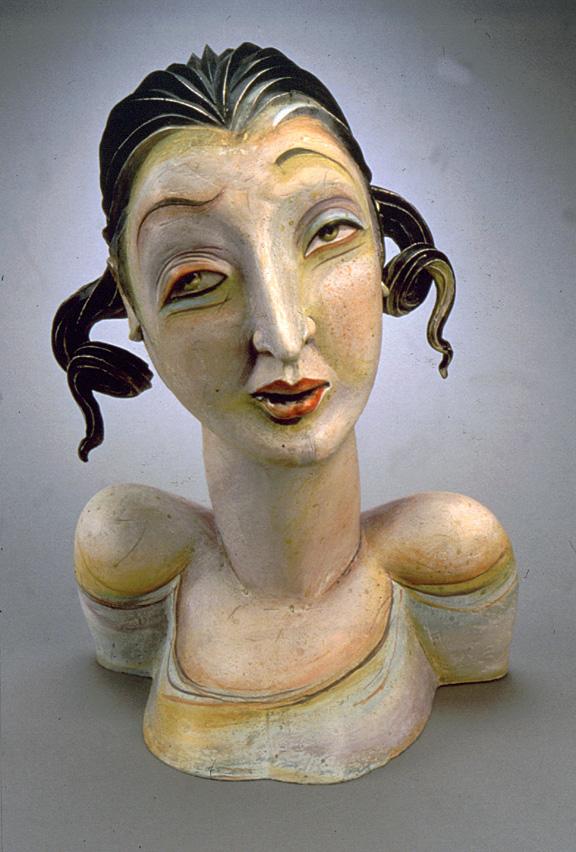 Patti Warashina Rome Series Portrait 2